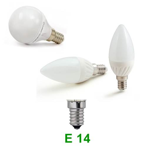 Λάμπα LED με Βάση Ε 14