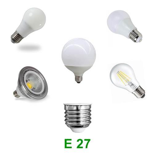 Λάμπα LED με Βάση Ε 27